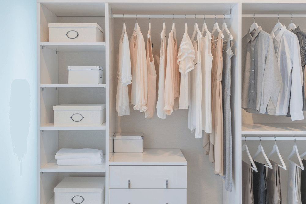 orden y limpieza en armarios con feng shui