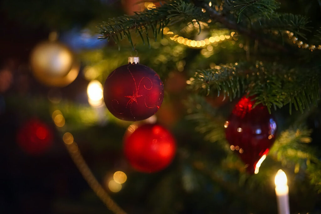 Ritual de limpieza Feng Shui para año nuevo-luces de Navidad